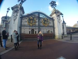 Visiting the London royals