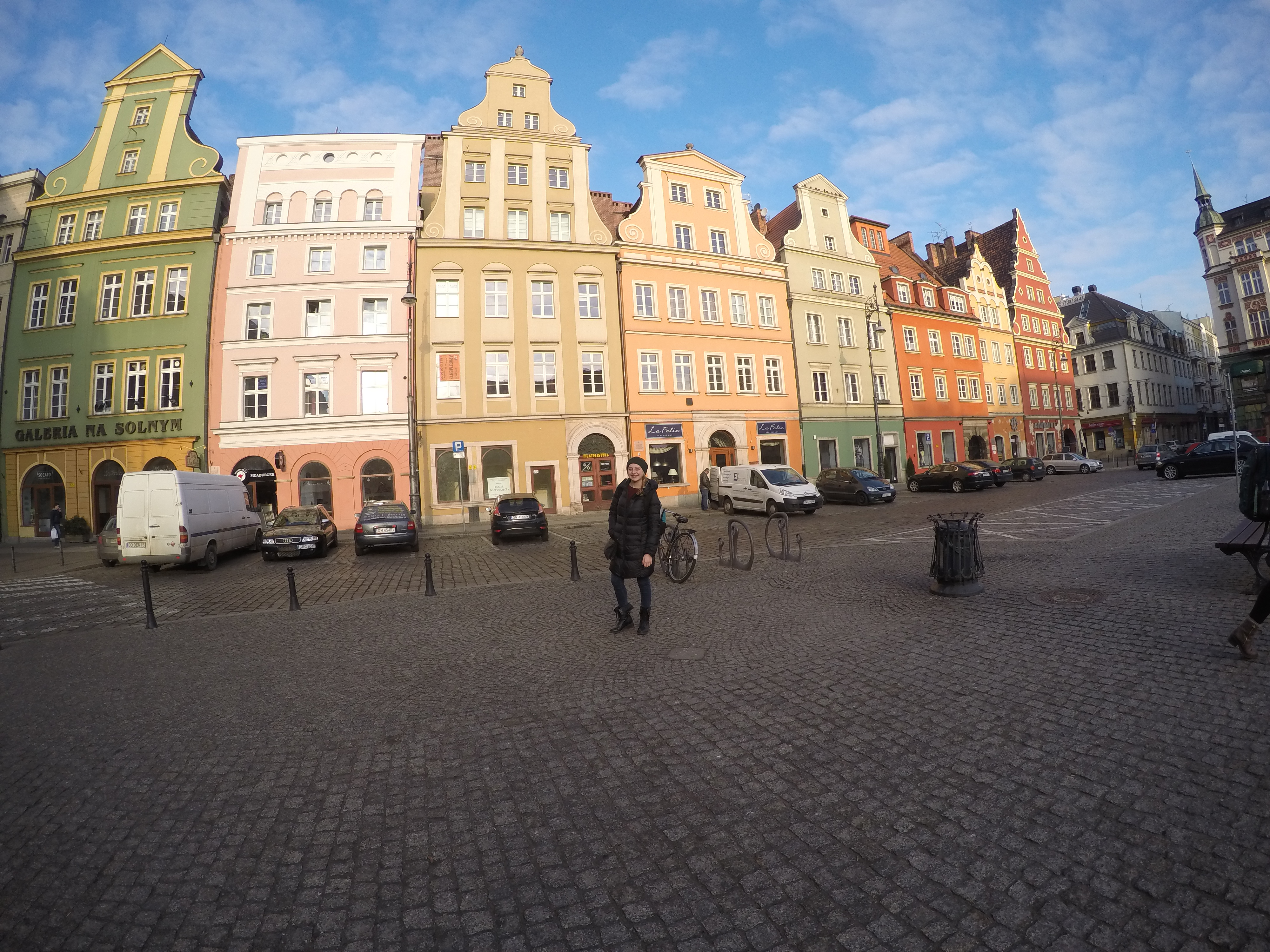 The iconic buildings in Wroclaw