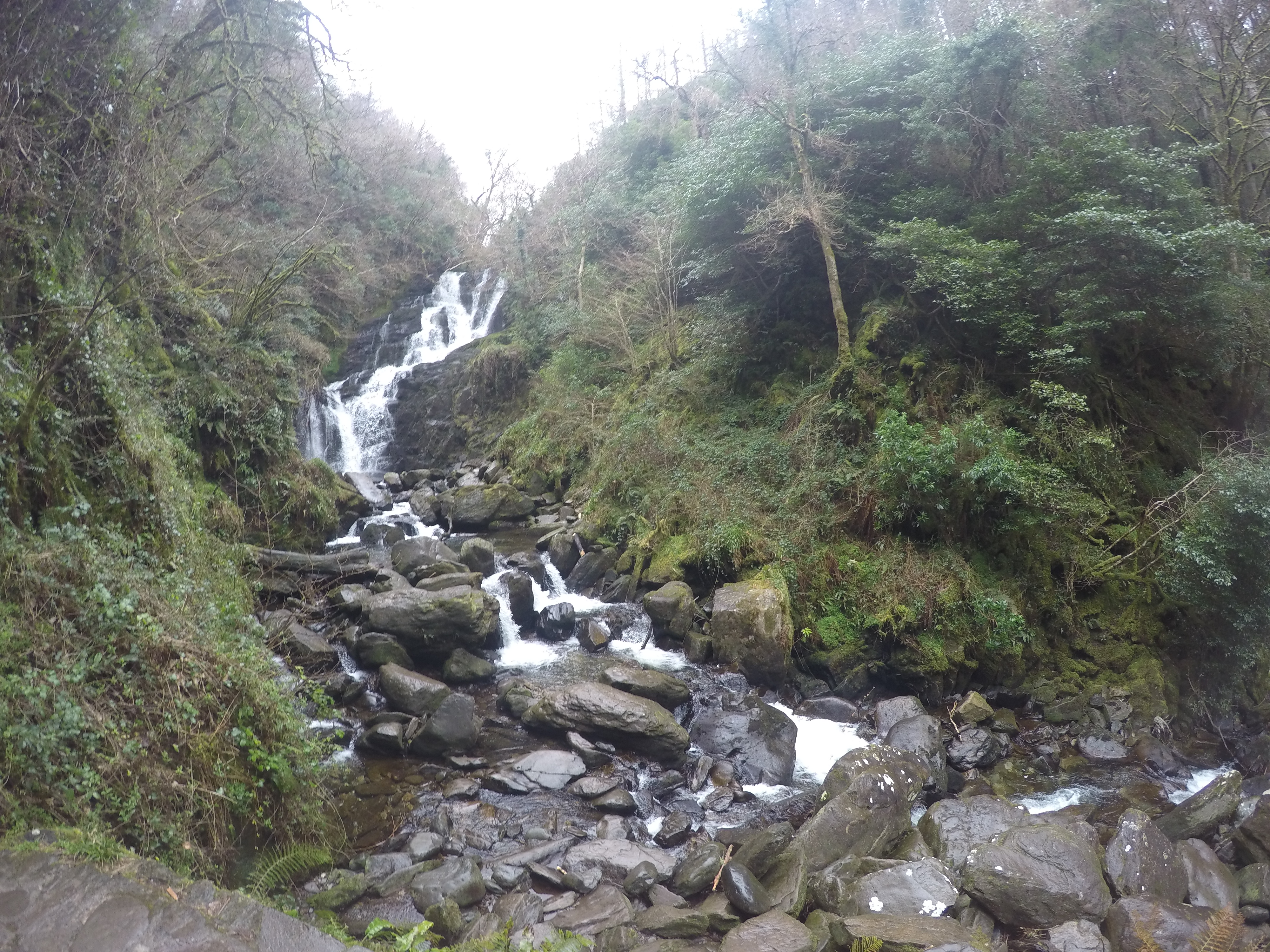 Torc Waterfall...yes this is where I fell in