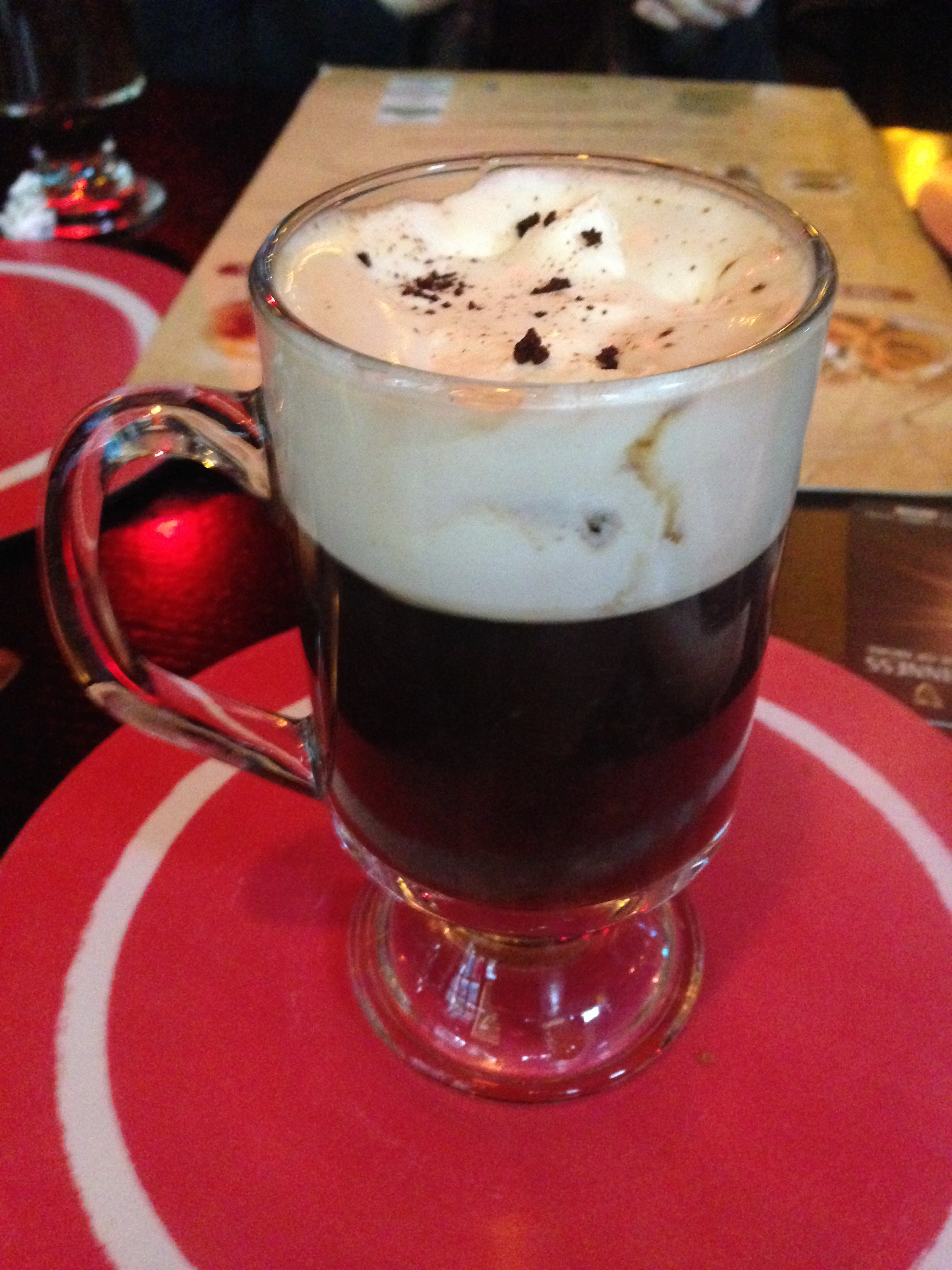 Irish coffee...my two favorite ingredients in the world!