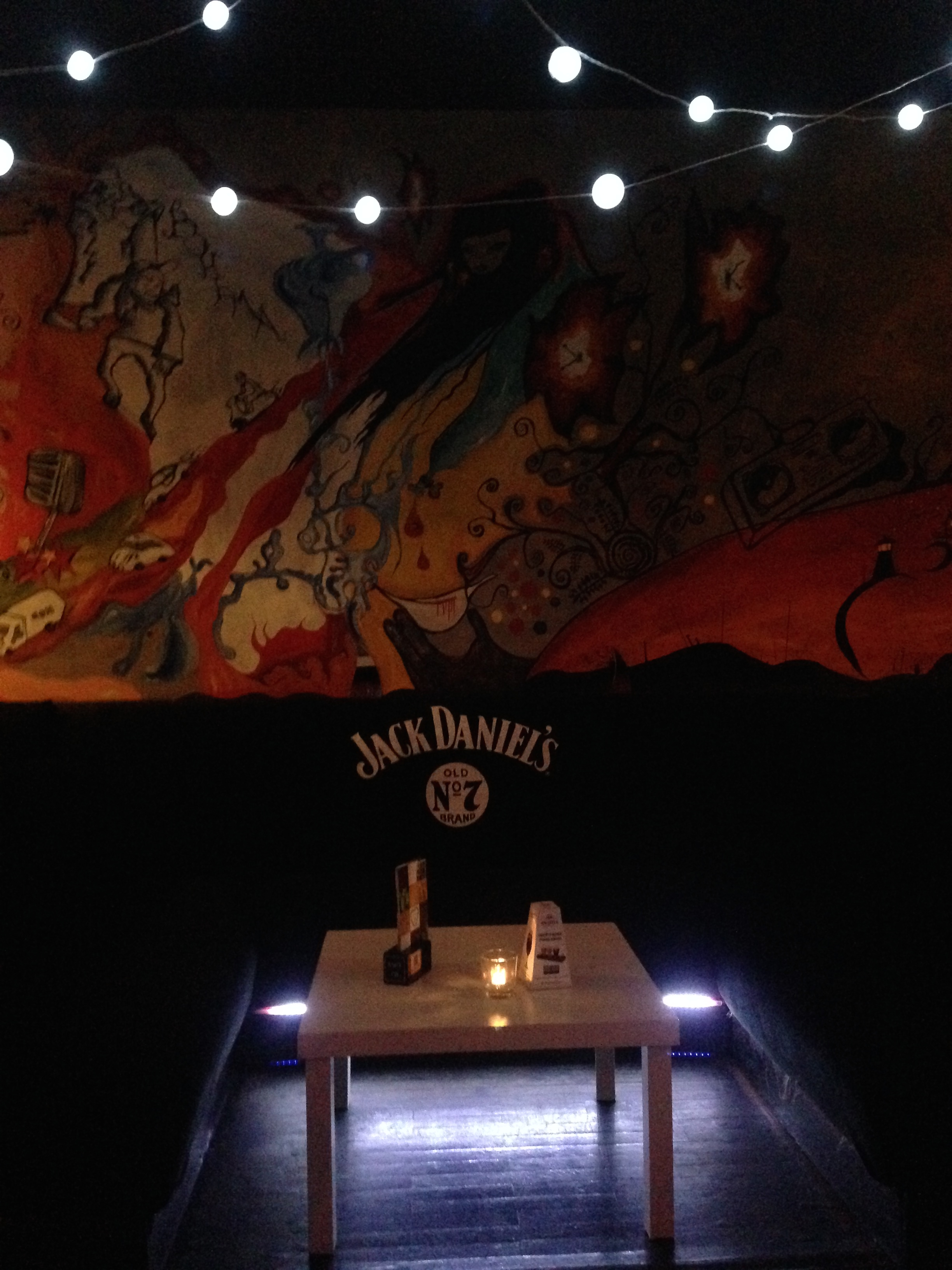 The coolest looking bar we went to in Wroclaw