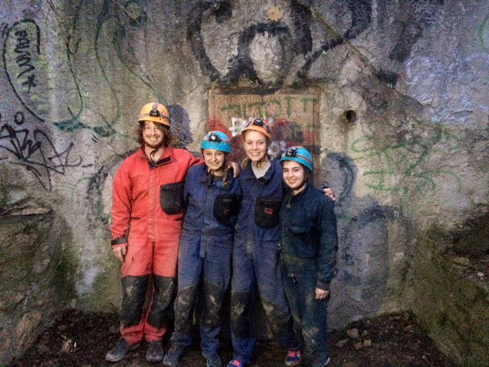 Cavers or ghostbusters?