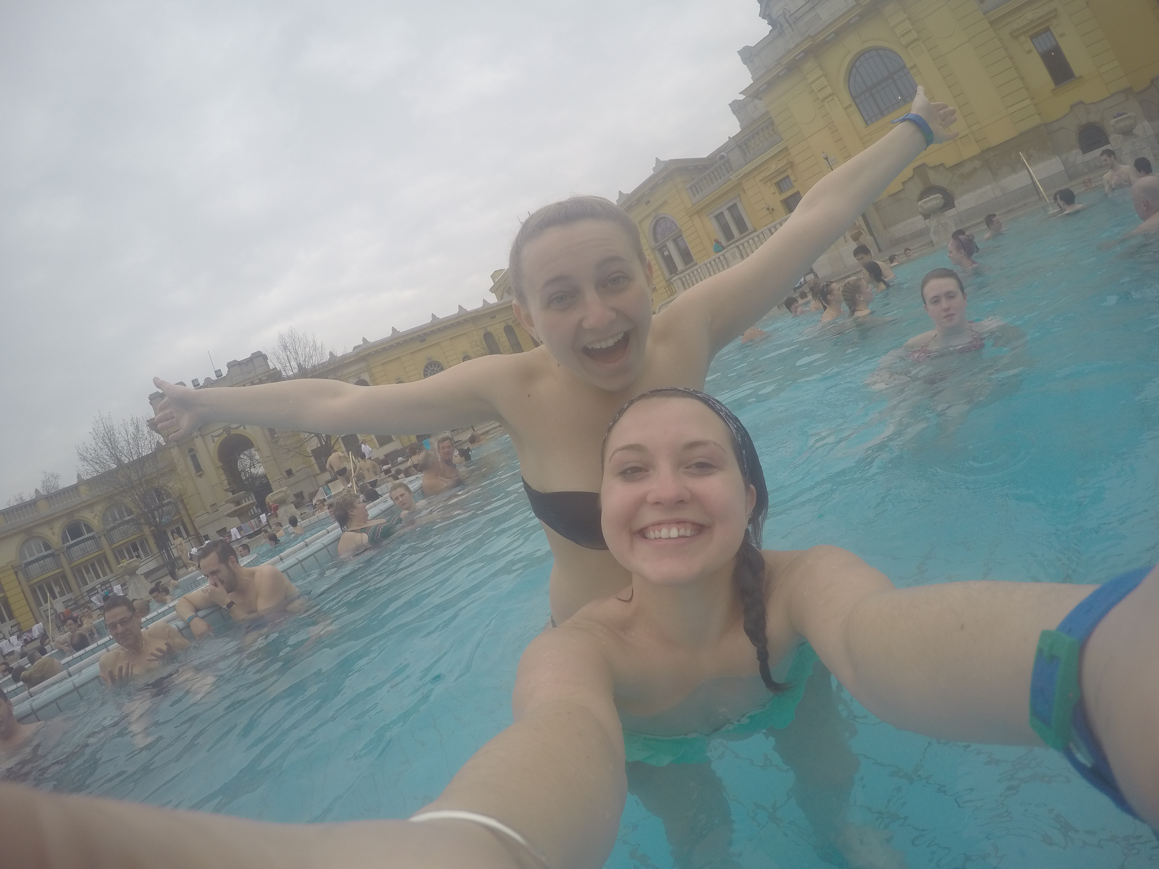 We love the water proof GoPro and piggy backs