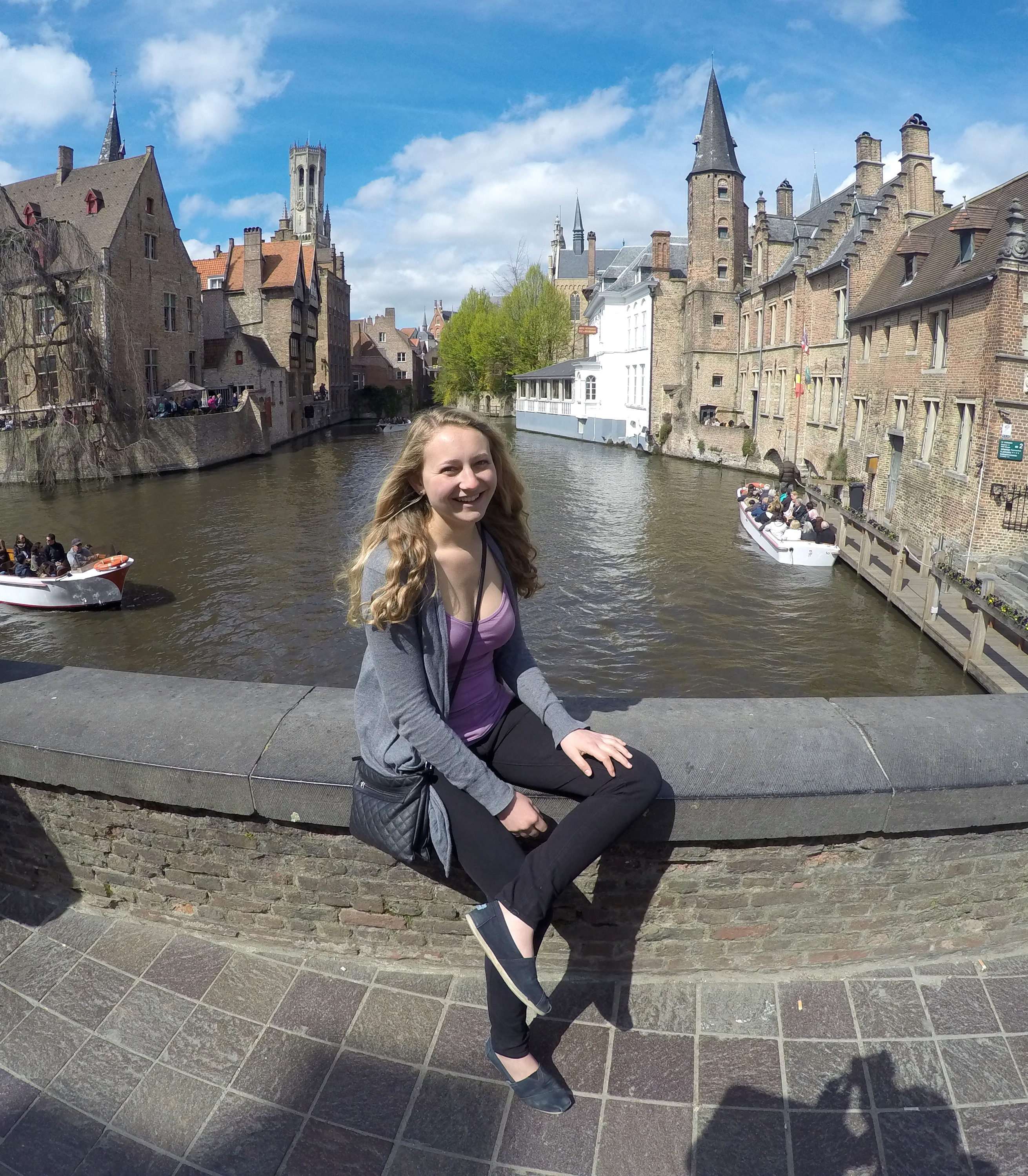 Enjoying the canals