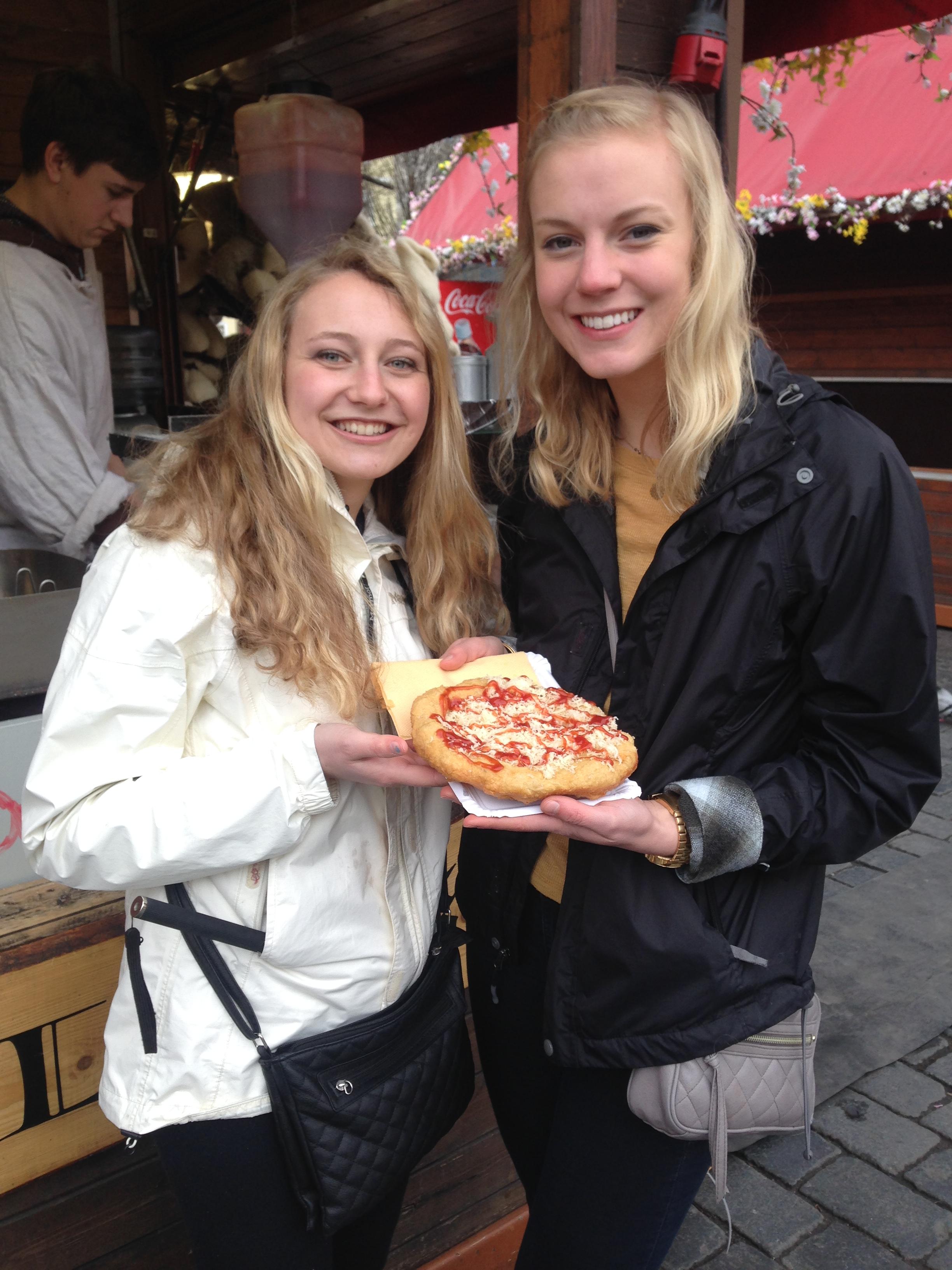We heart street pizza!