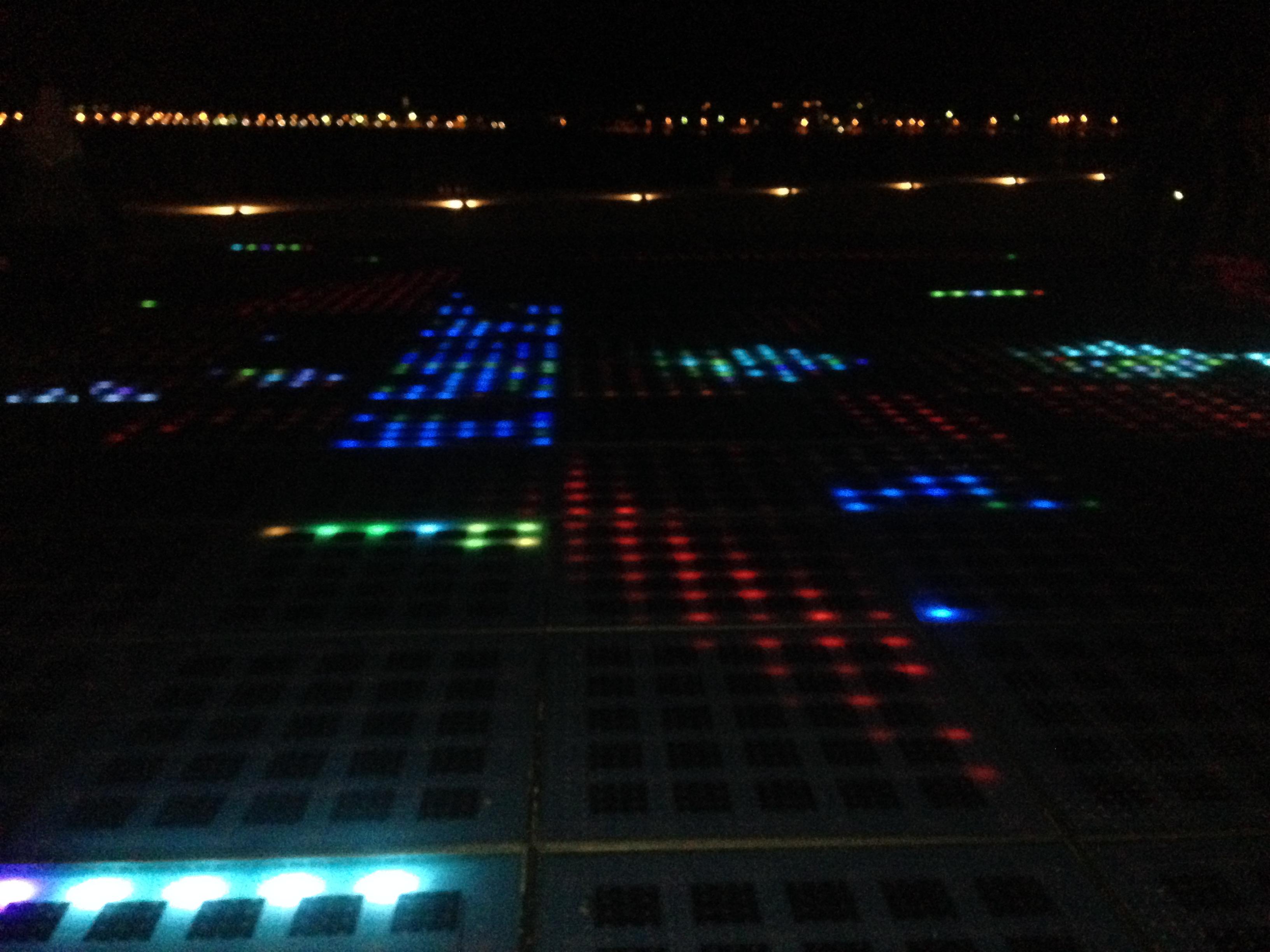 The Sea Organ by night