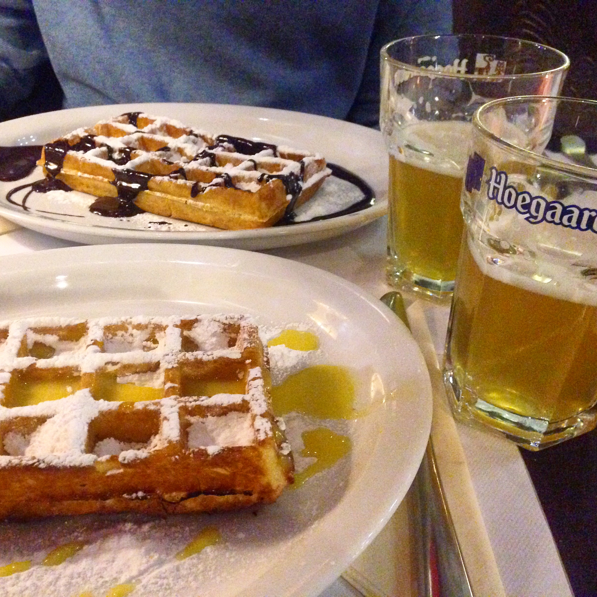 Beer and waffles...do you need anything else in life?