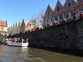 Boat cruise on the canals