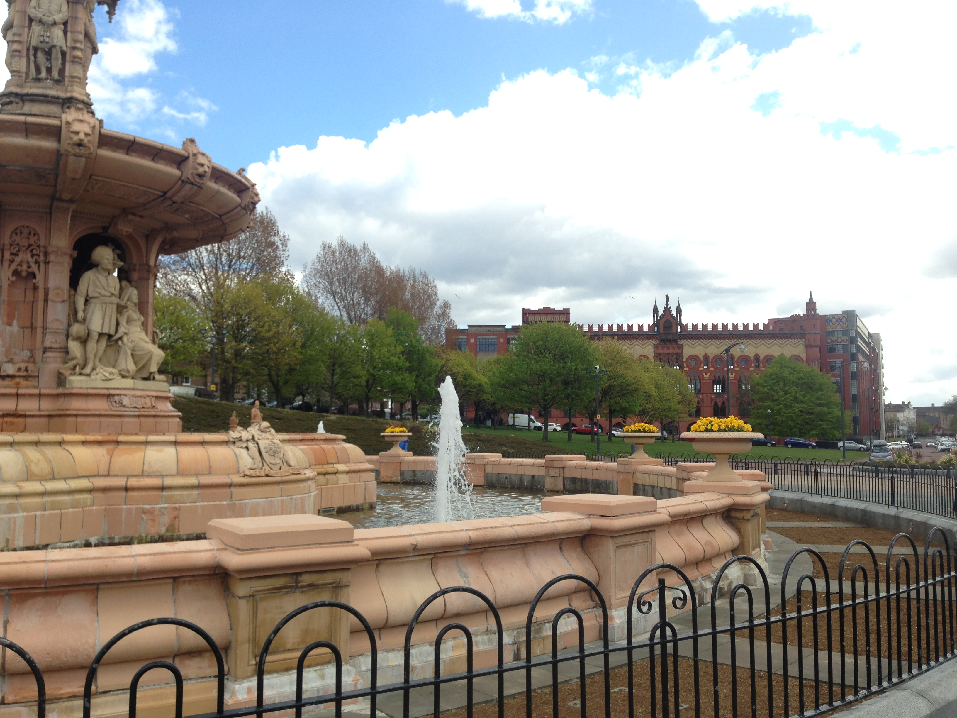 That fountain and carpet factory