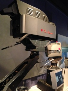 RCA Color Broadcast Camera - The first camera commercially produced for color television. It was the industry standard for 15 years.