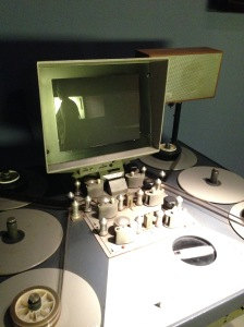 Six-plate Flatbed Editing Console (Kicking it old school)