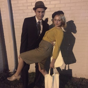 We dressed as Bonnie and Clyde for my date party and it was awesome!