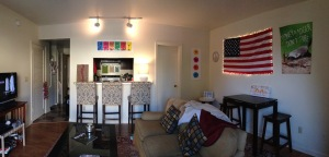 Our beautiful living room!